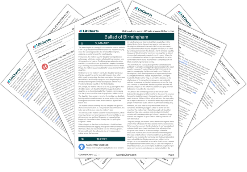 Analysis ballad of birmingham term paper homework help become a tutor parents